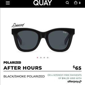 NWT after hours QUAY sunglasses